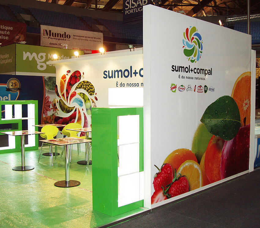 Stand Sumol + Compal