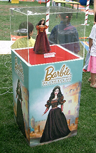 Expositor Barbie